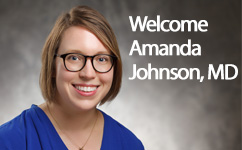 Amanda Johnson, MD, Matched as our Second MFM Fellow