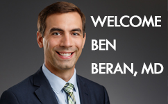 Obstetrician and Gynecologist and OBGYN Resident Alumni, Ben Beran, MD joins Medical College of Wisconsin Faculty