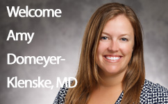 Obstetrician and Gynecologist Amy Domeyer-Klenske joins Medical College of Wisconsin faculty