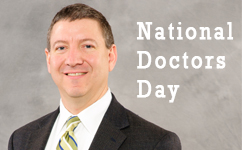 Donations made to honor physicians on National Doctors' Day - Dr. Lund was one of them