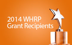Women's Health Research Program (WHRP) Awards Grants for 2014 Submissions