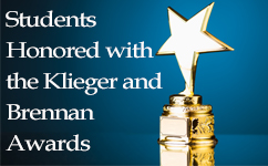 MCW Students Honored with the Klieger and Brennan Student Award