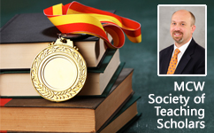 Dr. Lemen has been inducted into MCW's Society of Teaching Scholars