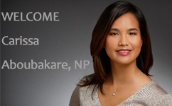 Welcome Carissa Aboubakare, WHNP