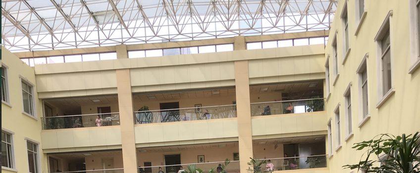 China Hospital Court Yard
