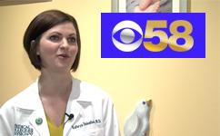 Dr. Kate Dielentheis Interviewed on CBS 58: