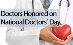 Donations made to honor physicians on National Doctors' Day