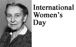 International Women's Day - Eleanor Delfs, MD was the First Woman Named Full Professor at MCW