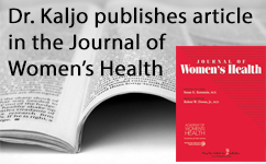 Dr. Kristina Kaljo - article author of