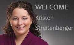 Welcome Kristen Streitenberger, PA-C