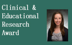 4th Year Resident, Paige Persch, MD, Won the Clinical & Educational Research Award at MCW's 2017 Research Day