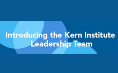 "Dr. Michael Lund Named ""Student Pillar Leadership"" in the newly-established Kern Institute for the Transformation of Medical Education"
