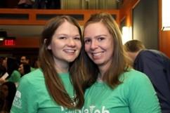 Katie Hemauer and Nancy Stevens