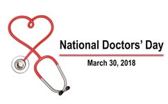 National Doctors' Day on March 30 offers chance to honor our physicians
