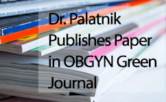 Dr. Palatnik Publishes Paper on