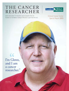 Clinical Cancer Center Special Report 2013: The Cancer Researcher