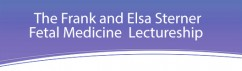 2019 Annual Sterner Lecture for Fetal Medicine @ MCW HRC Bolger Auditorium