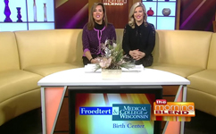 Dr. Kate Dielentheis shares our New World-Class Birth Center on TMJ4's Morning Blend