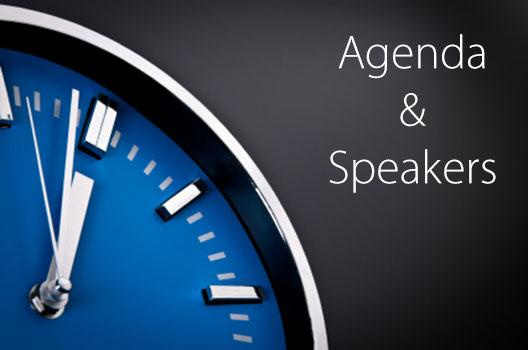 Agenda & Speakers