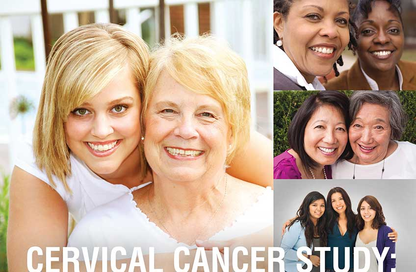 Volunteers Needed for Cervical Cancer Study