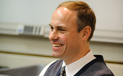 Dr. Timothy Klatt Receives Promotion to Professor