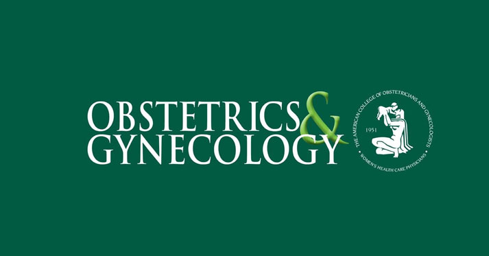 Dr. Palatnik Publishes Paper in OBGYN Green Journal
